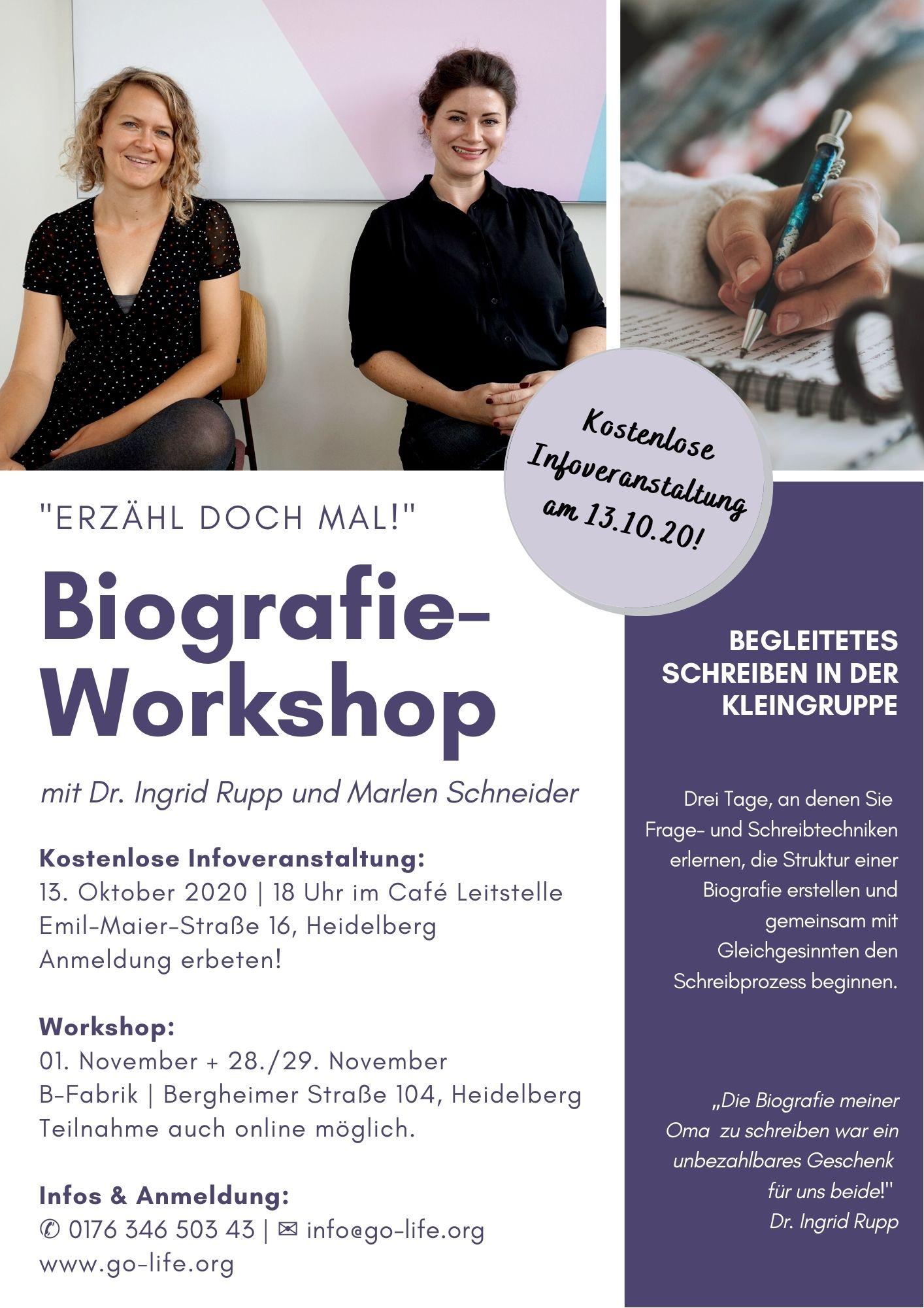 Biografie-Workshop-Flyer-Bild